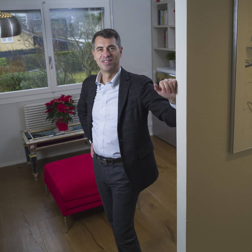 Portrait de Giorgio, membre du Forum Citoyen de Genève