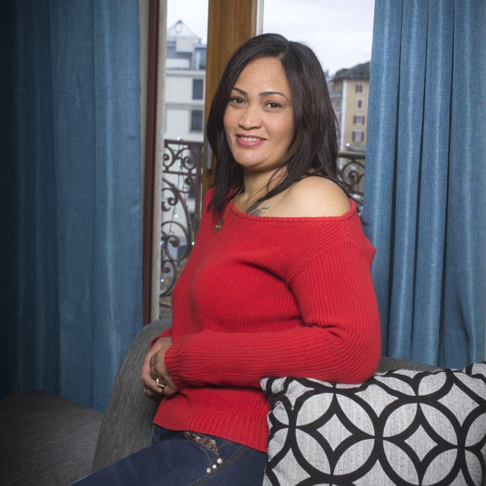Portrait de Juana, membre du Forum Citoyen de Genève