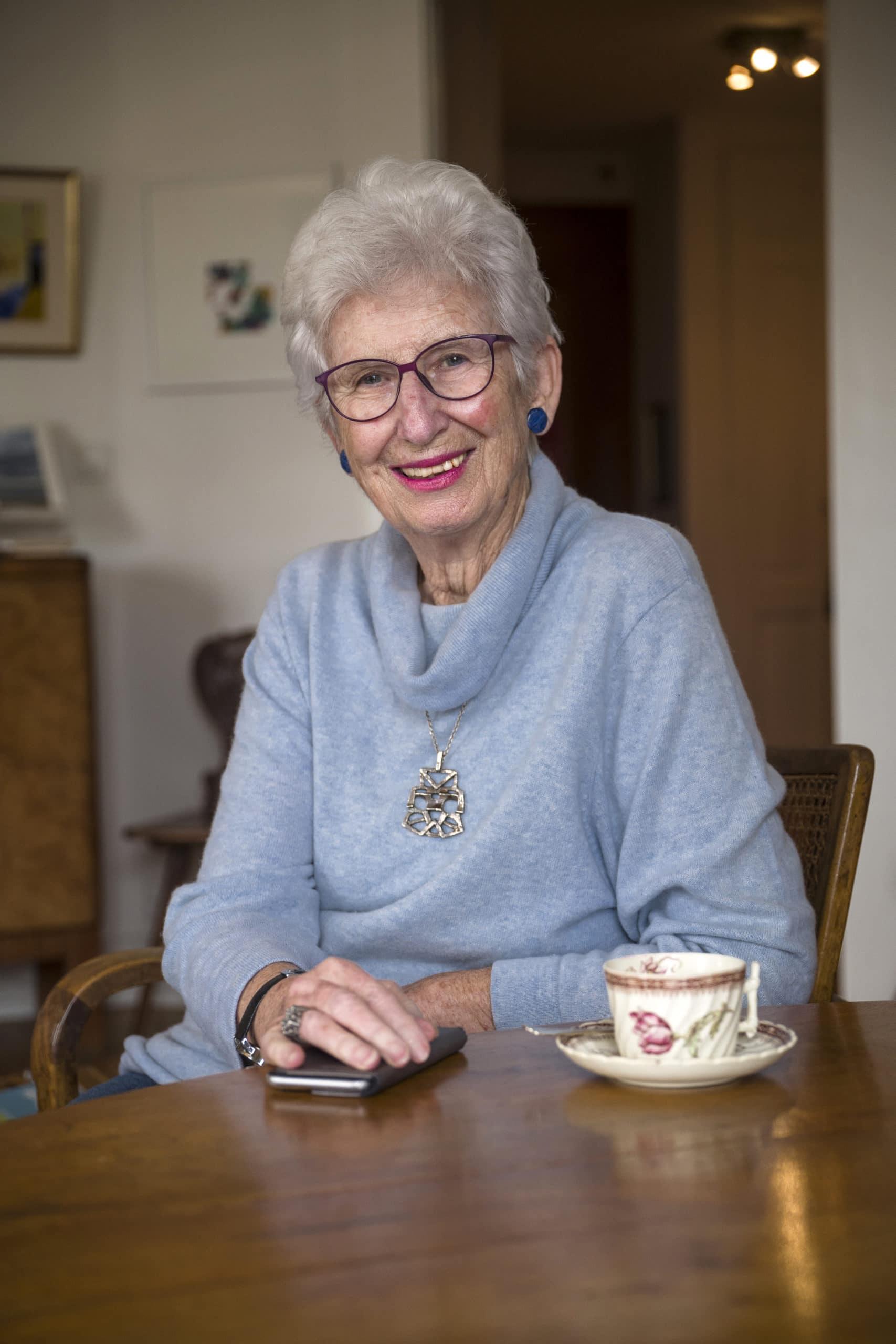 Portrait de Murielle, membre du Forum Citoyen de Genève