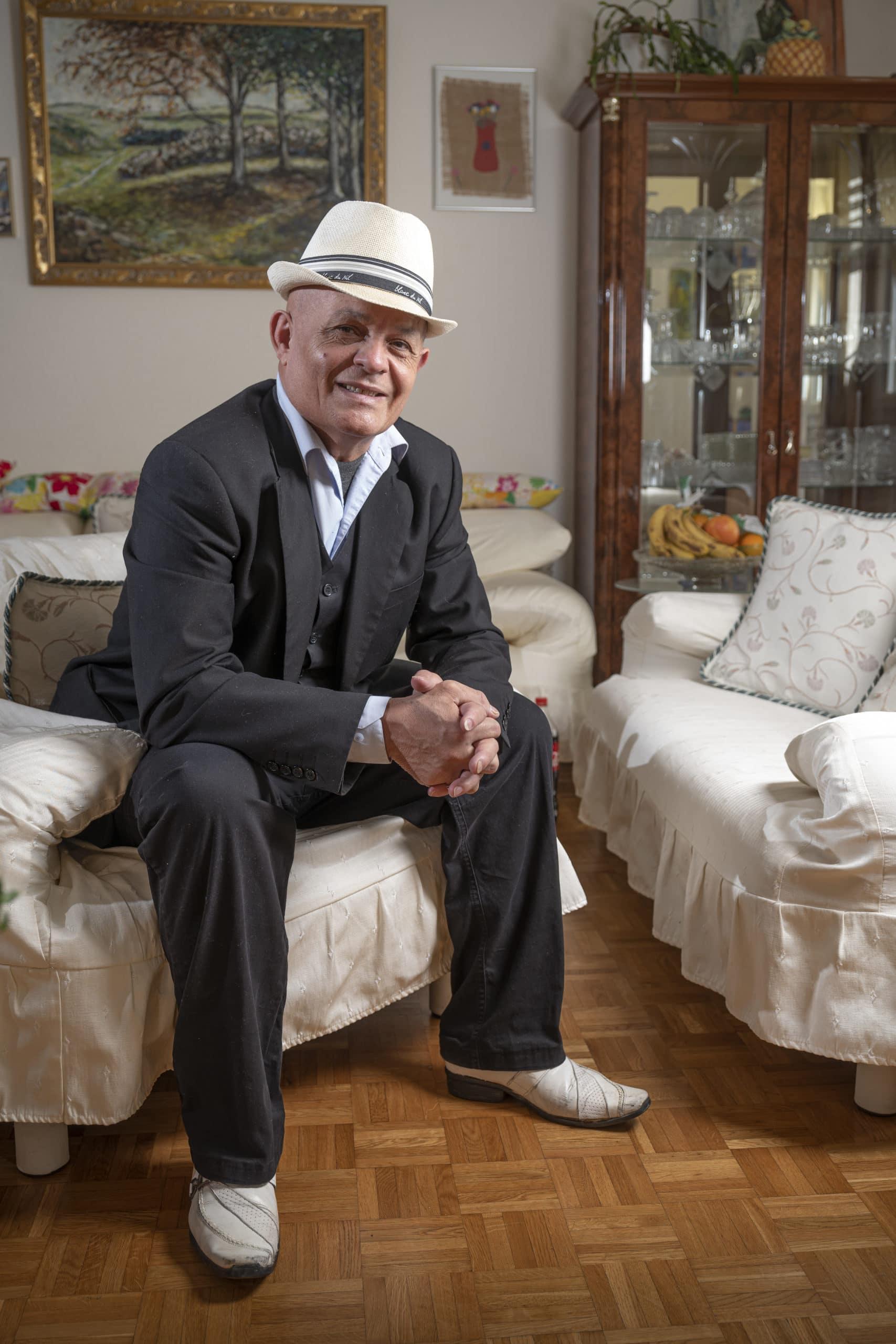Portrait de Celestino, membre du Forum Citoyen de Genève