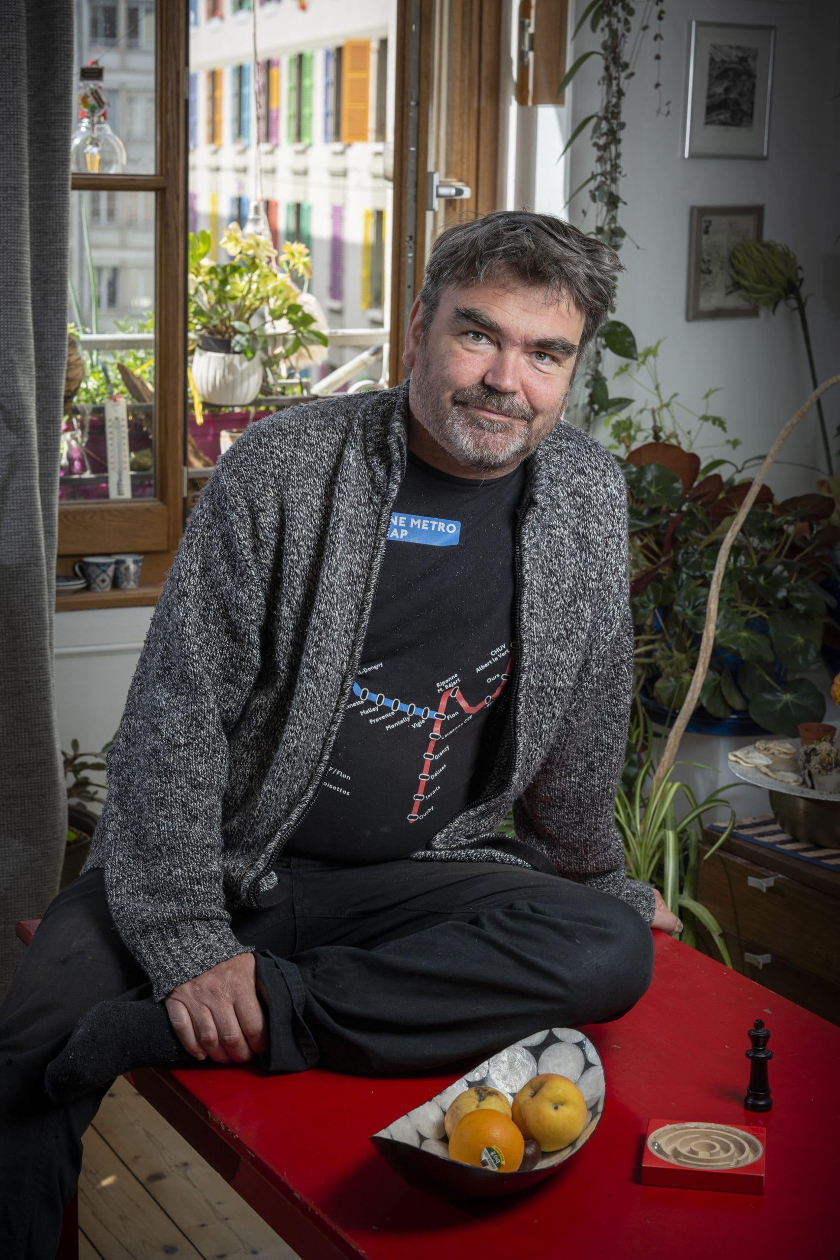 Portrait de Pascal, membre du Forum Citoyen de Genève