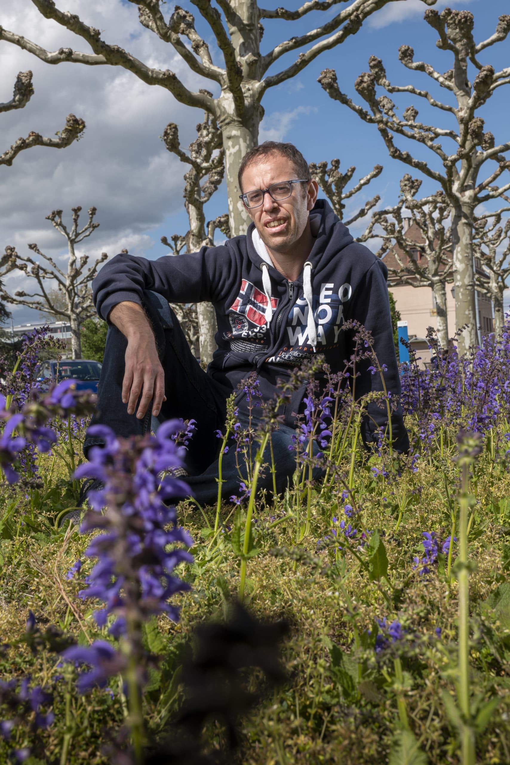 Portrait de Arnaud, membre du Forum Citoyen de Genève
