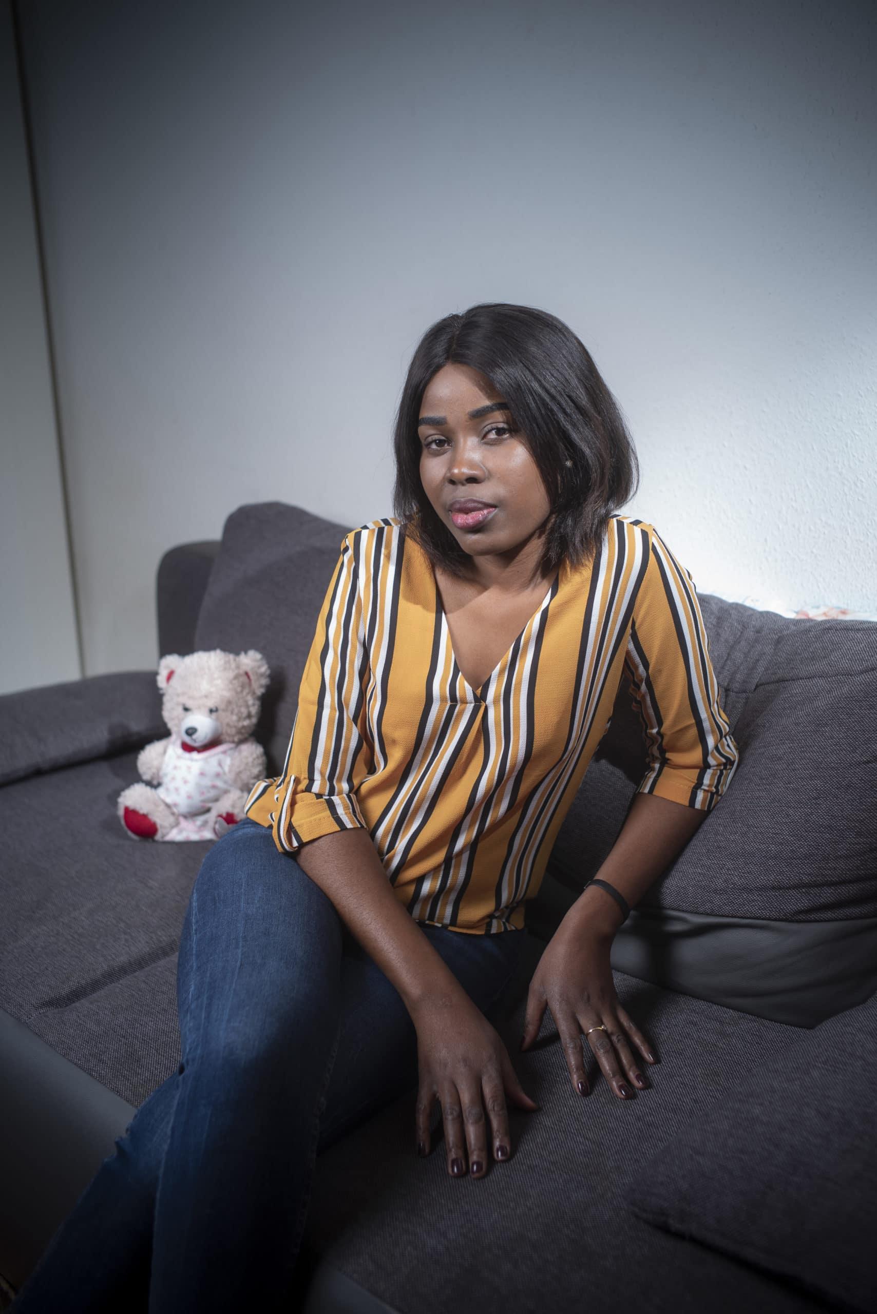 Portrait de Claudia, membre du Forum Citoyen de Genève
