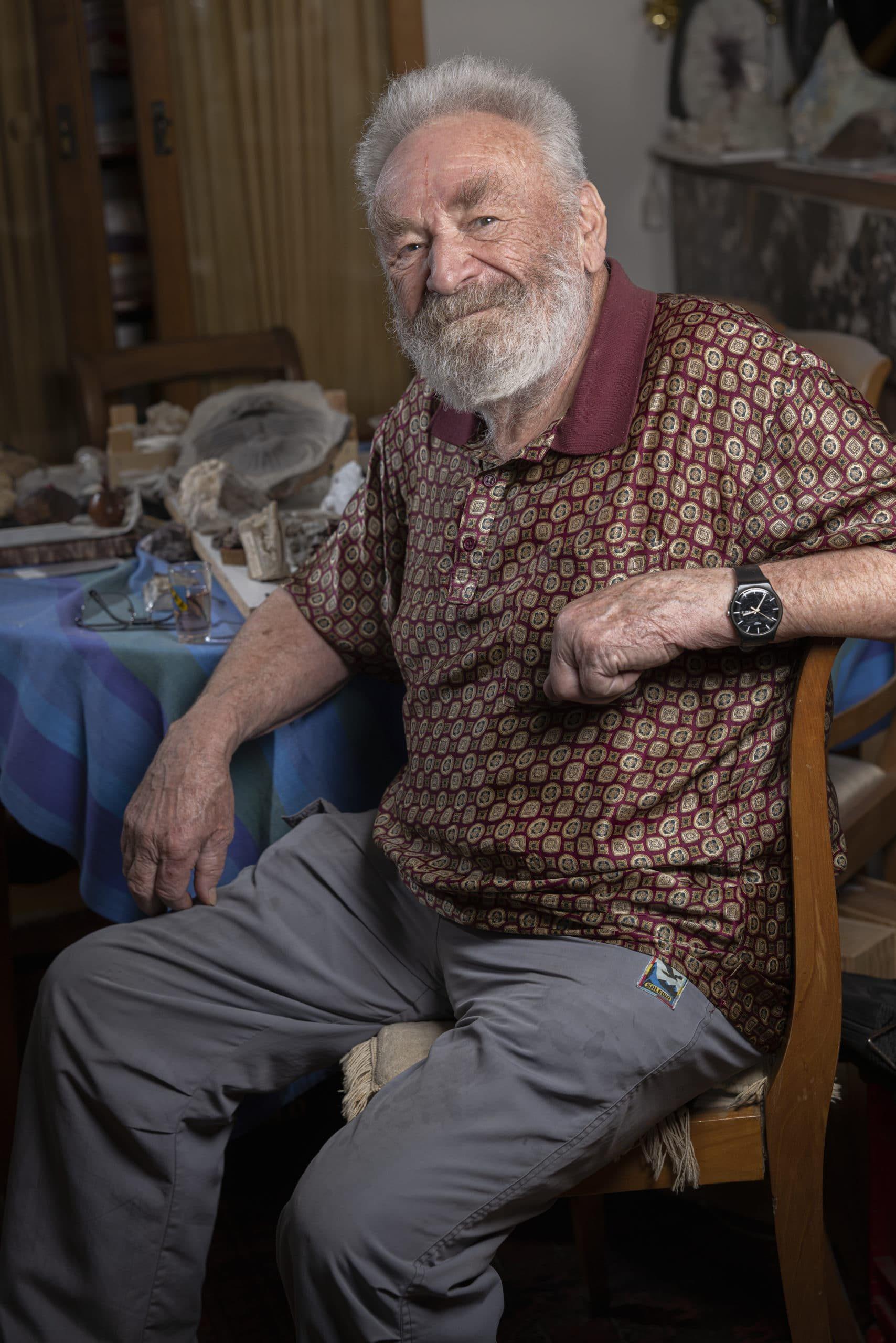 Portrait de Josef, membre du Forum Citoyen de Genève