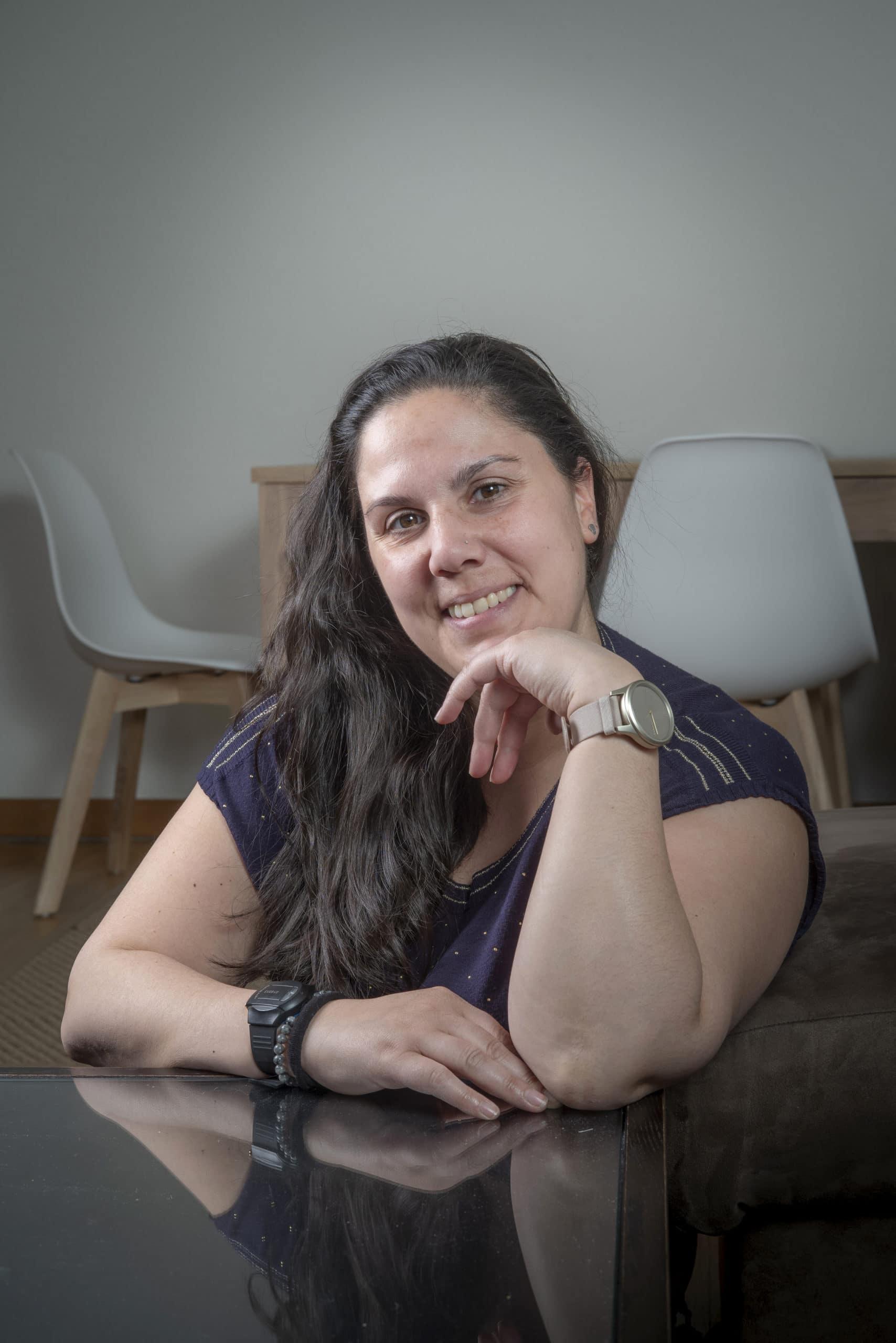 Portrait de Marta, membre du Forum Citoyen de Genève